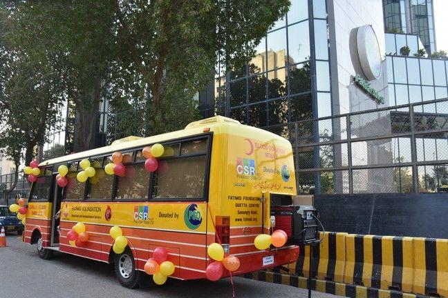 Fatimid Quetta Launches Blood Donation Bus Service Fatimid Foundation